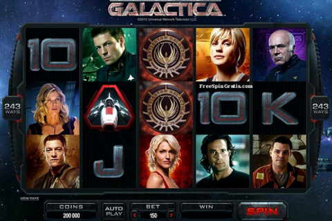 Microgaming Battlestar Galactica video slot